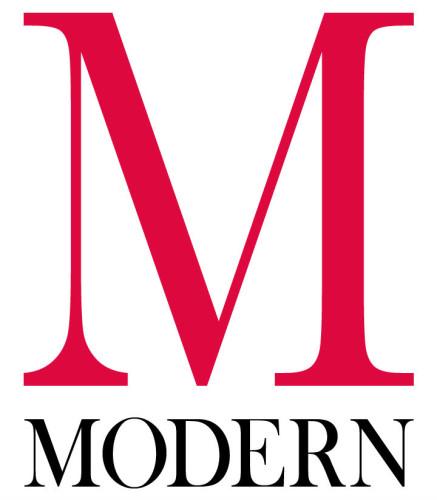 Modern Stacked Logo