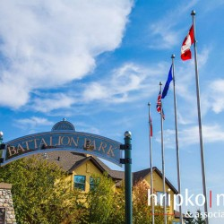 battalion-park-sign-flags-signal-hill-sw-calgary-real-estate-hripko-nelson