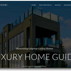 luxury calgary homes