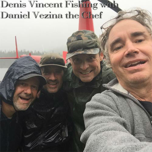 Denis Vincent Fishing with Daniel Vezina the Chef