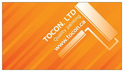 TOCON quality painting services